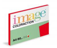 Coloraction A4/100ks  80g červená jahodo